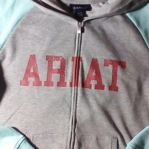 Ariat Womens Zip Hoodie Size Medium Nice
